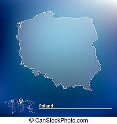 mappa, polonia