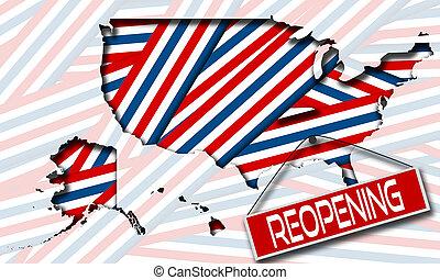 mappa, reopening, concetti, ci, economie, segno
