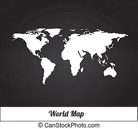 mappa, silhouette