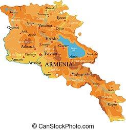 mappa sollievo, armenia