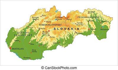 mappa sollievo, slovacchia