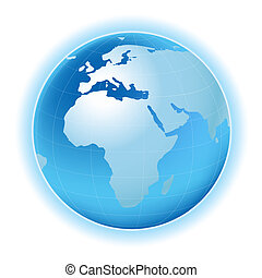 mappa terra