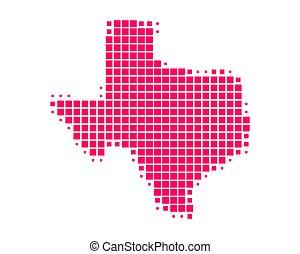 mappa, texas