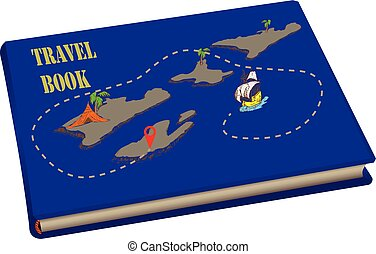 mappe, viaggiare, libro