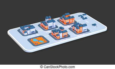 Maps - 3D Animation