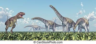 mapusaurus, argentinosaurus