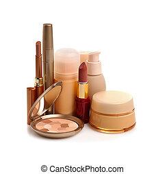 maquilagem, cosméticos