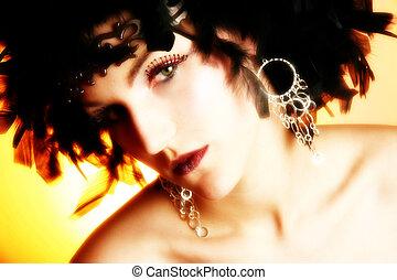 maquillage, artistique
