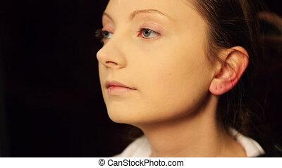 maquillage, figure