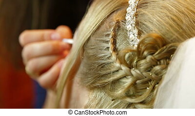 maquillage, mariage
