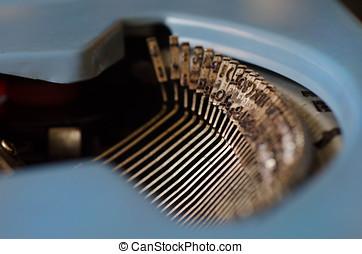 maquina, escribir, de