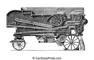 maquinaria, agrícola