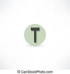 maquinilla de afeitar, icono