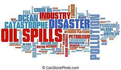 marée noire, désastres