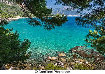 mar adriático, bahía