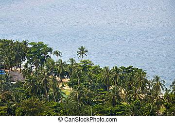 mar de andaman, orilla
