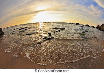 mar mediterrâneo, costa