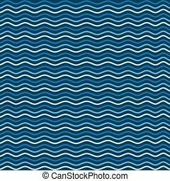 mar, padrão, onda, tema, fundo, praia