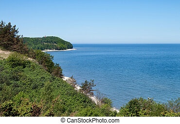 mar, paisagem