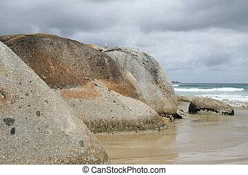 mar, paisaje