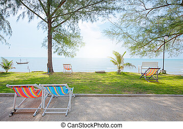 mar, praia, natureza, scene., praia tropical, holiday.