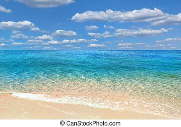 mar, rojo, verano, egypt.