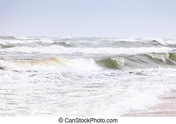 mar tempestuoso