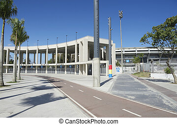 maracana, labdarúgás, stadion, rio