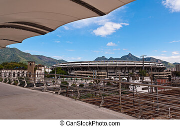 Maracana Stadium in Rio de Janeiro