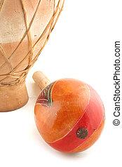 maracas and drum