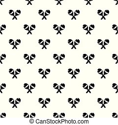 Maracas pattern vector seamless