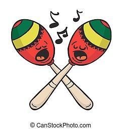 maracas singing