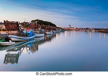 Marano Lagunare, fishing village in Friuli Venezia Giulia -...