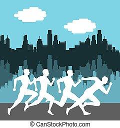 marathon competition design