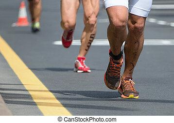 marathon, konkurrenz
