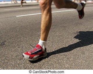 marathon, man