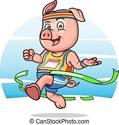 Marathon Pig