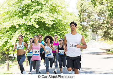 maratoni futás, atléta, futás