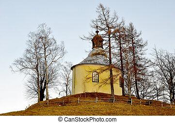 maravilhoso, paisagens, de, polônia