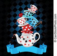maravilla, partido té, pirámide, diseño