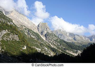 maravilloso, montañas
