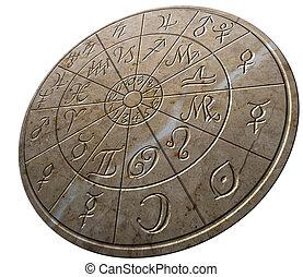 marbel, zodiaque, roue