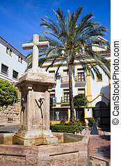 Marbella Old Town - Church Square (Spanish: Plaza de la...
