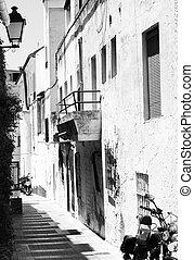 marbella, strada stretta, spagna