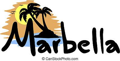 Marbella sun - Creative design of Marbella sun