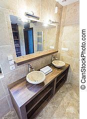 Marble basins
