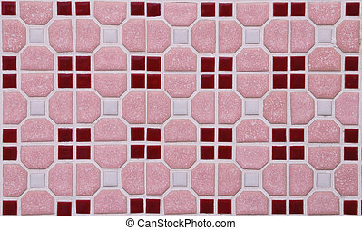 Pink marble block as background abstract texture