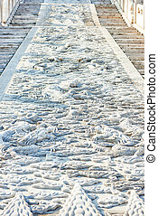 Marble Carriageway Imperial Palace Forbidden City Beijing China