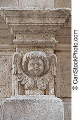 Marble Column.
