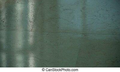 Marble floor at Luxury mall,Sun